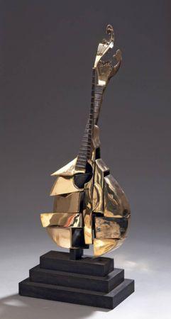 リトグラフ Arman - Guitare Portugaise