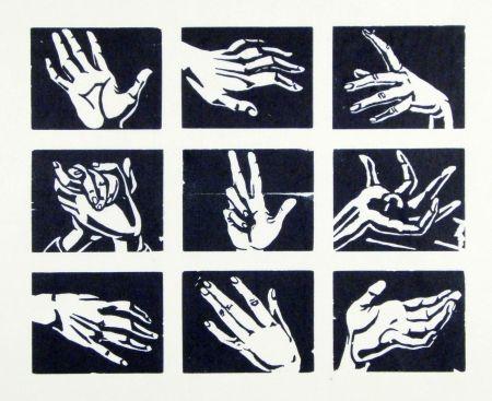 木版 Scheele - Hände (Hands)