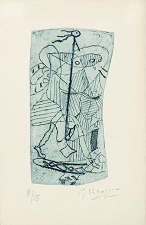 彫版 Braque - Héraclite d'Ephèse