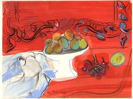 挿絵入り本 Dufy - Héron de Villefosse : EAUX DE VIE (12 pochoirs de Raoul Dufy) 1952