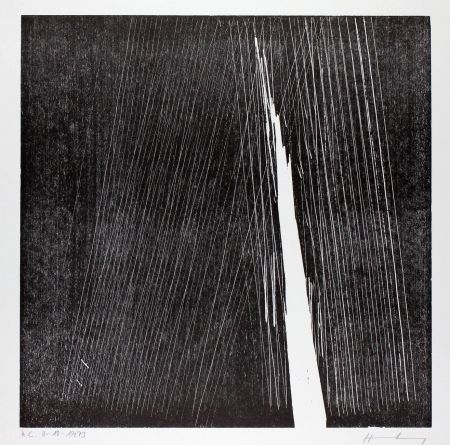 木版 Hartung - H-18-1973