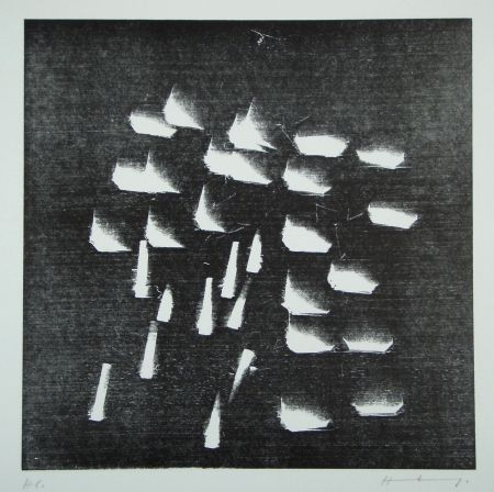 木版 Hartung - H-19-1973