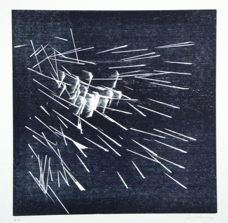木版 Hartung - H-22-1973