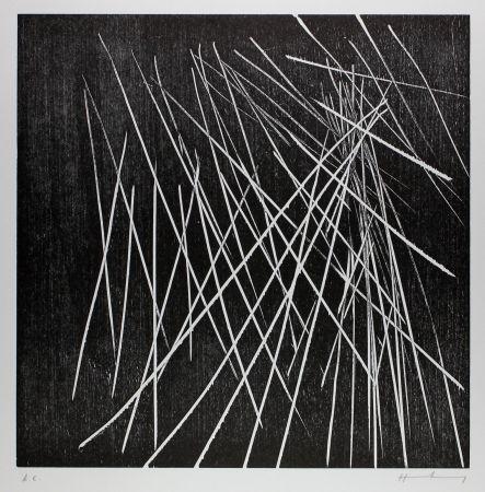 木版 Hartung - H-8-1973