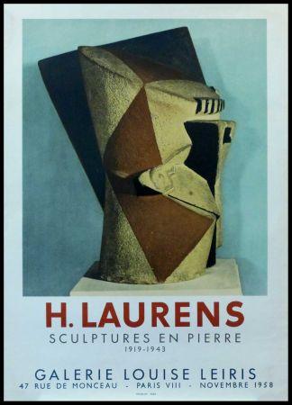 掲示 Laurens - H. LAURENS - GALERIE LOUISE LEIRIS SCULPTURES EN PIERRE