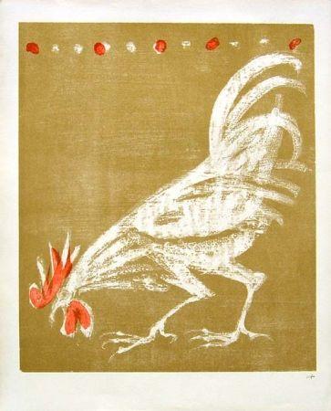 リトグラフ Fischer - Hahn / Rooster