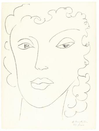 リトグラフ Matisse - Haitïenne