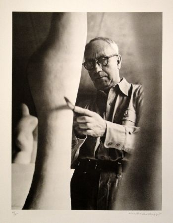 写真 Scheidegger - Hans Arp