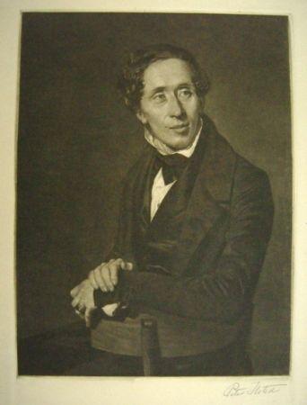 メゾチント彫法 Ilsted - Hans Christian Andersen