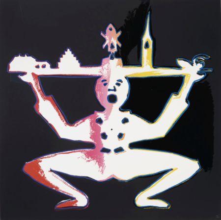 シルクスクリーン Warhol - Hans Christian Andersen 1