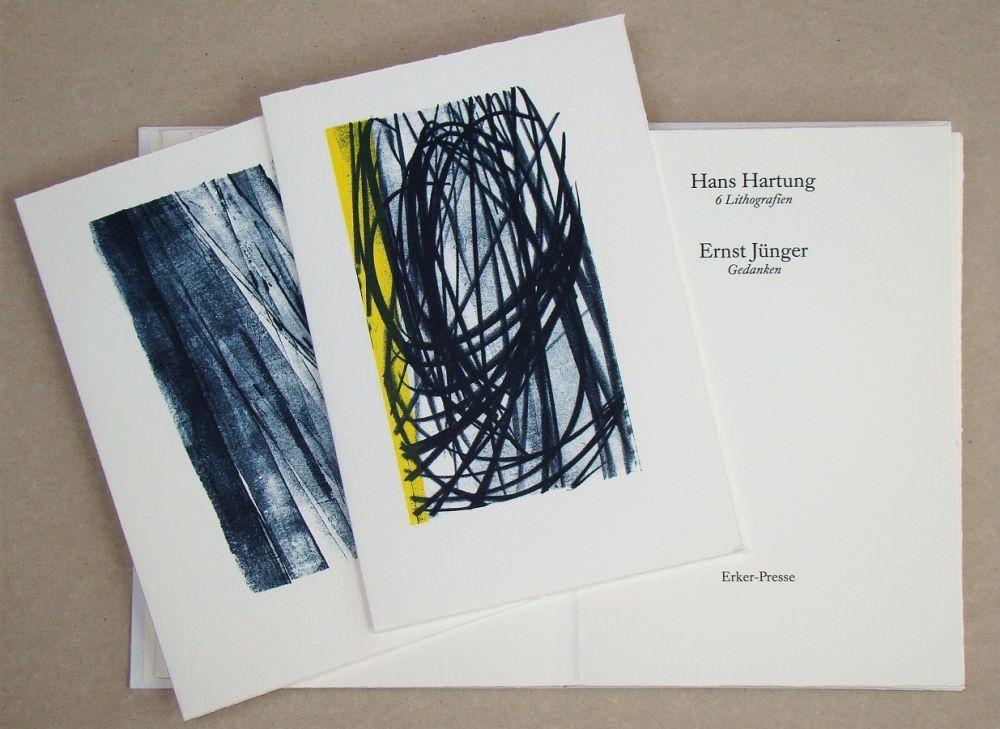 挿絵入り本 Hartung - Hans Hartung 6 Lithografien & Ernst Jünger Gedanken