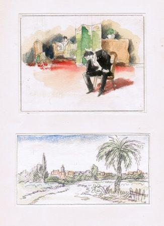 挿絵入り本 Guilbert - Hans le marin; Un scandale au XVIIIe siècle; La femme et le pantin; Le manchot.