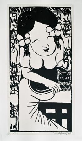 リトグラフ Tongzhengang - Harmony 10