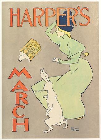 リトグラフ Penfield - Harper's March