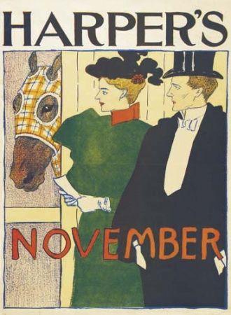 リトグラフ Penfield - Harper's November