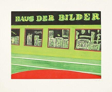 エッチングと アクチアント Doig - Haus der Bilder, Blatt 4 der Serie
