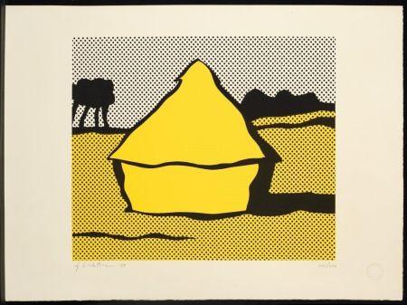 シルクスクリーン Lichtenstein - Haystack
