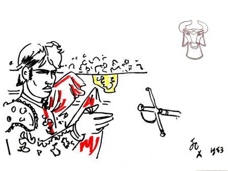 リトグラフ Cocteau - Hero