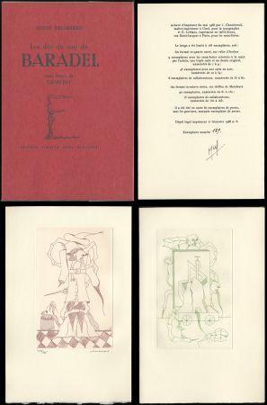 挿絵入り本 Camacho  - Hervé Delabare : Les dits du sire de BARADEL. Eaux-fortes de Camacho (1968).