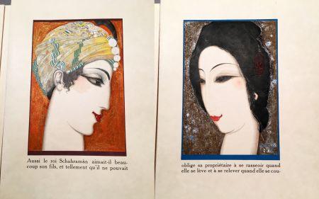 挿絵入り本 Schmied - HISTOIRE DE LA PRINCESSE BOUDOUR. Conte des mille et une nuits. (1926)
