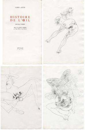 挿絵入り本 Bellmer - HISTOIRE DE L'OEIL. Nouvelle version. Avec six gravures originales à l'eau-forte et au burin.
