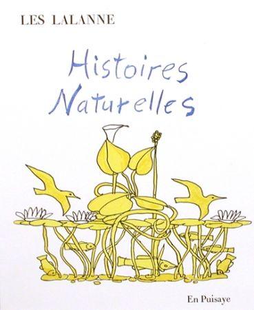 挿絵入り本 Lalanne - Histoires naturelles,