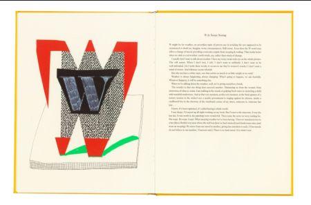 多数の Hockney - Hockney's Alphabet. 1991. Signed.