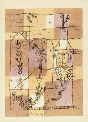 リトグラフ Klee - Hoffmanneske Szene