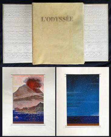 挿絵入り本 Schmied - HOMÈRE : L'ODYSSÉE (1930-1933). L'exemplaire du traducteur de référence.