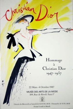 オフセット Gruau - Homage à Christian Dior