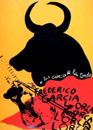 多数の Arman - Homage to Federico Garcia Lorca