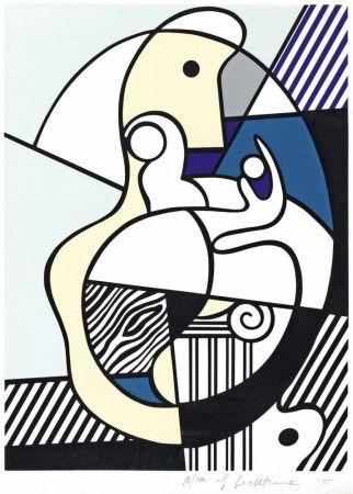 シルクスクリーン Lichtenstein - Homage To Max Ernst