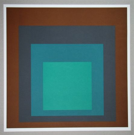 シルクスクリーン Albers - Homage to the Square SP-1