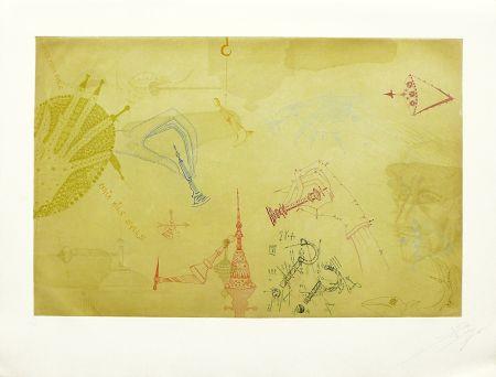 エッチングと アクチアント Ponç - Homenaje a Marcel Duchamp