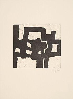 エッチングと アクチアント Chillida - Homenaje a Picasso