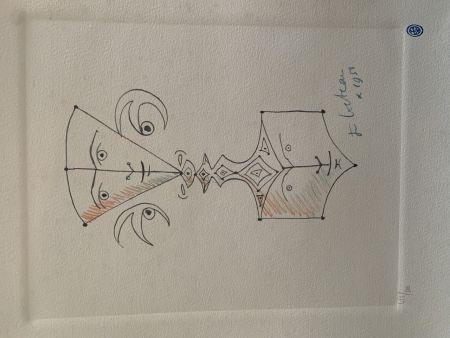 リトグラフ Cocteau - Hommage