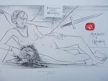 彫版 Trémois - Hommage à Cranach