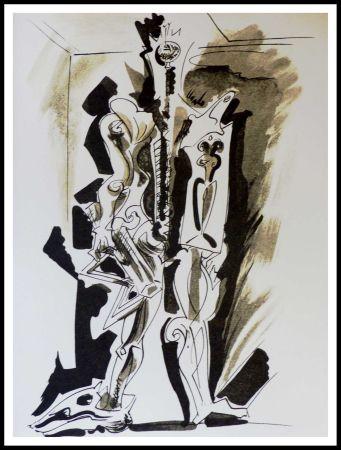 リトグラフ Masson - Hommage à Dorothea Tanning