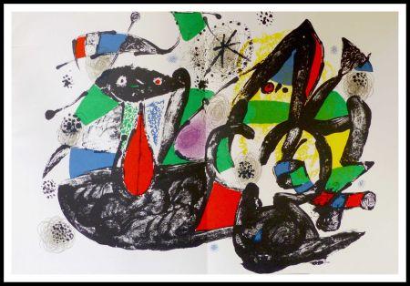 リトグラフ Miró - Hommage à Dorothea Tanning