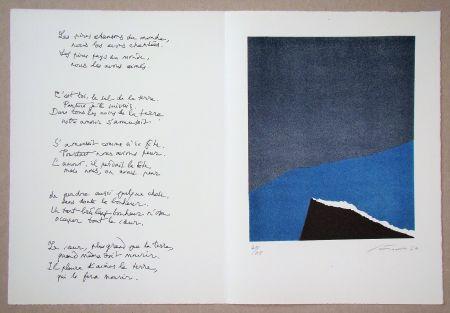 リトグラフ Santomaso - Hommage à Jean Cassou, 1970