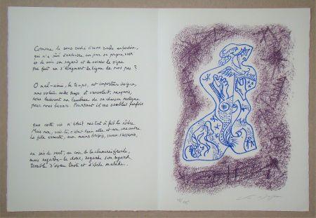 リトグラフ Masson - Hommage à Jean Cassou, 1978