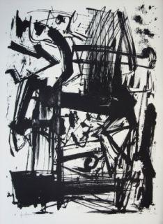 リトグラフ Vedova - Hommage à Joan Prats