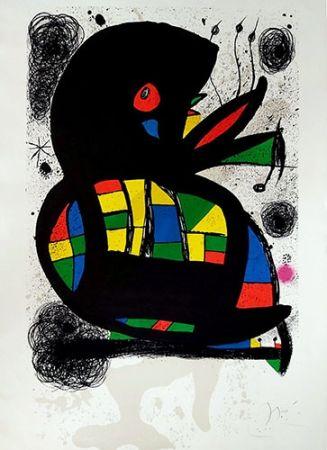 リトグラフ Miró - Hommage à Maeght