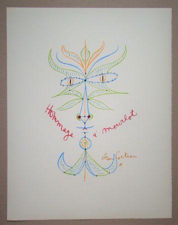 リトグラフ Cocteau - Hommage à Mourlot