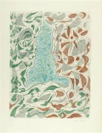 エッチングと アクチアント Masson - Hommage à Picasso