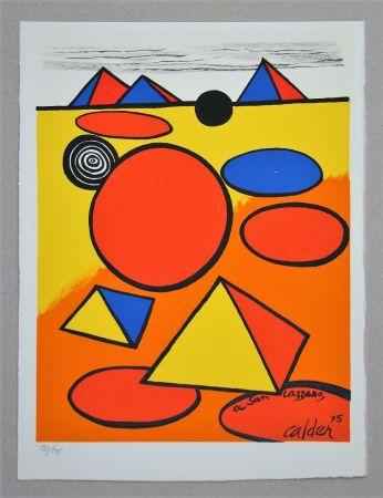 リトグラフ Calder - Hommage à San Lazzaro
