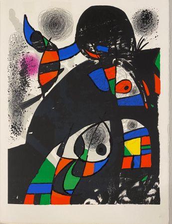 リトグラフ Miró - Hommage à San Lazzaro