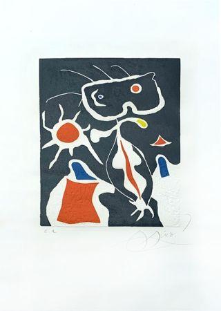 彫版 Miró - Hommage à San Lazzaro