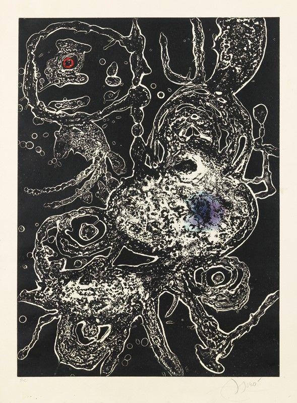 カーボランダム Miró - Hommage a Joan Mirò