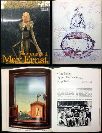 挿絵入り本 Ernst - HOMMAGE A MAX ERNST - XXe Siècle - N° spécial 1971.